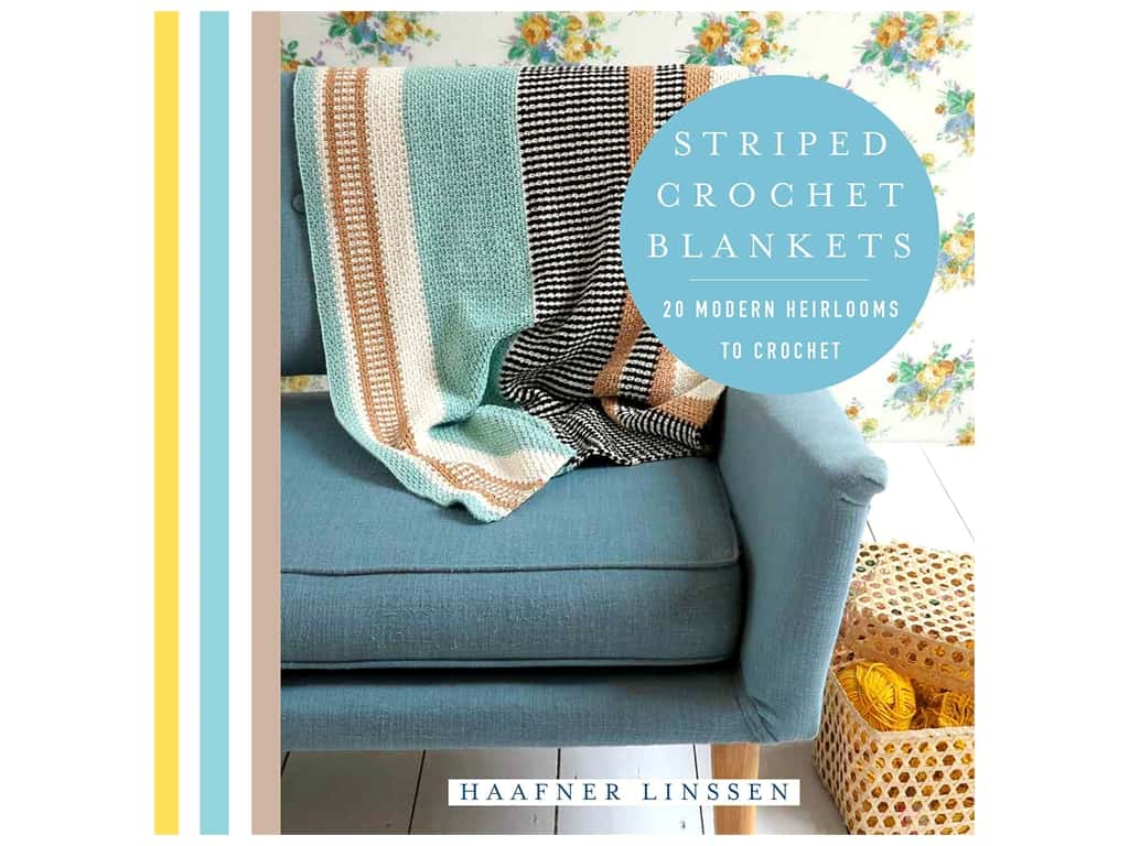 St Martin's Griffin Striped Crochet Blankets Book
