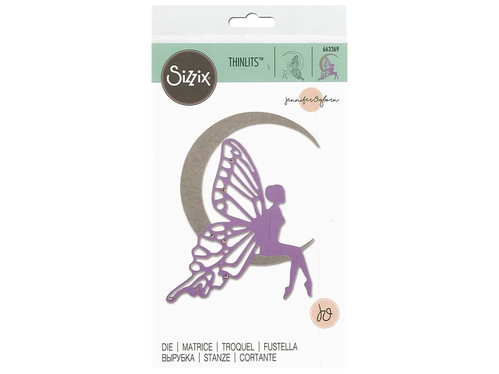 Sizzix Dies Jennifer Ogborn Thinlits Fairy Moon