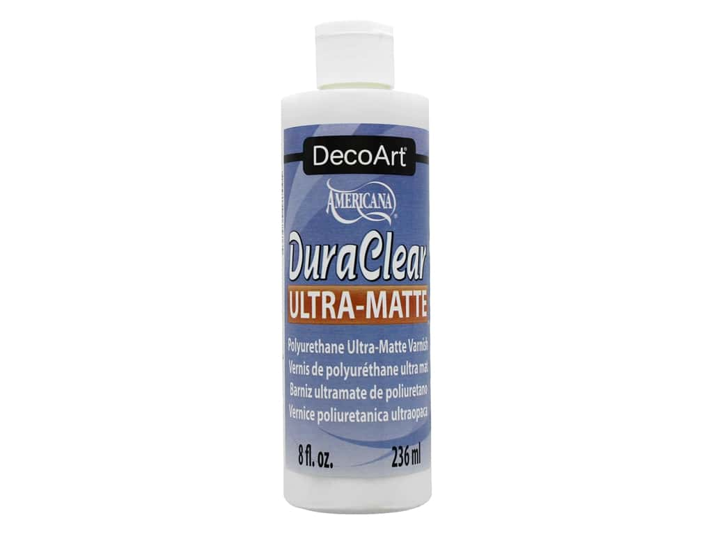 DecoArt DuraClear Varnish 8 oz. Ultra Matte