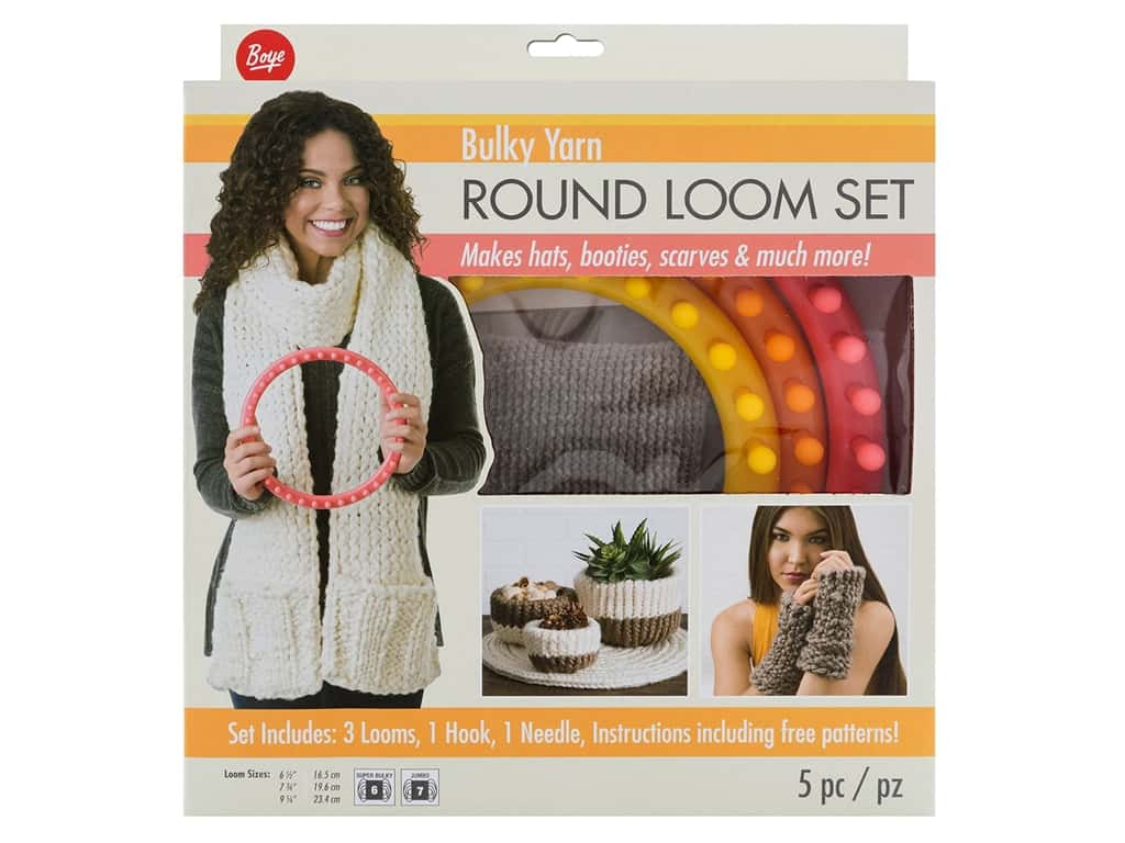 Boye Bulky Yarn Round Loom Set