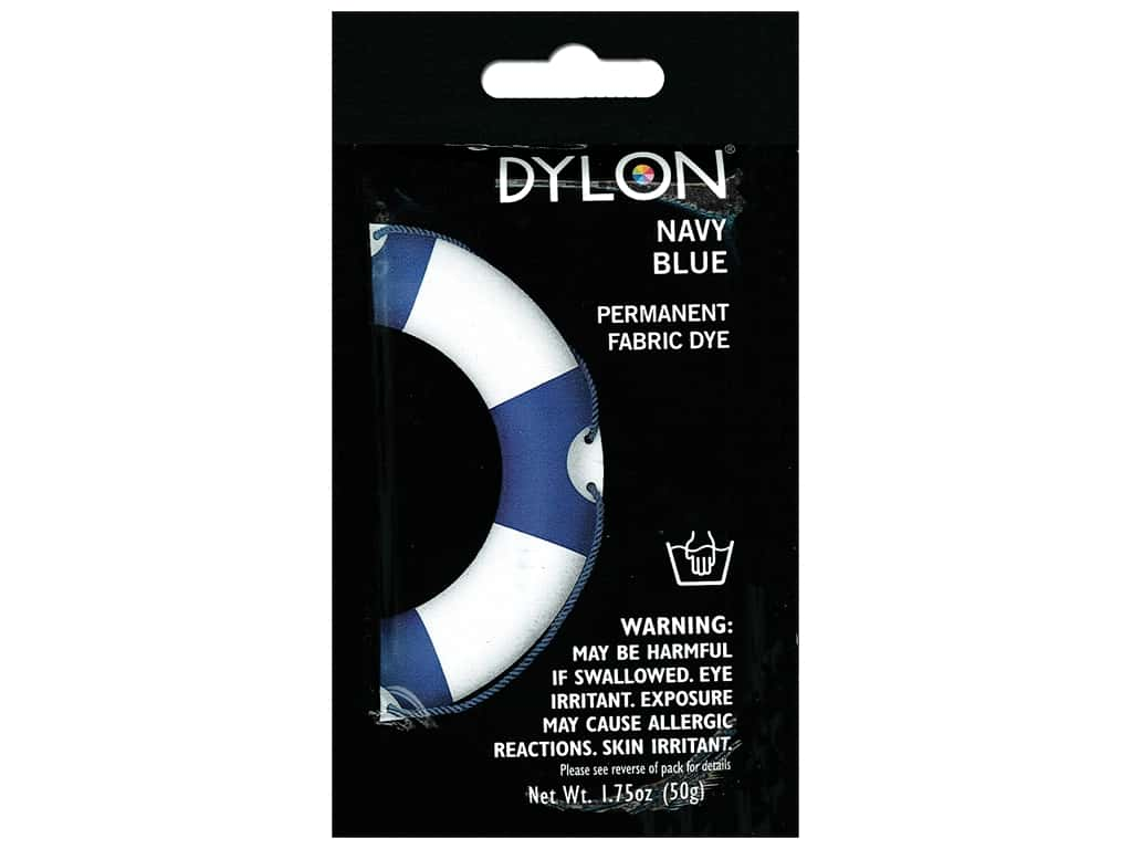 Dylon Permanent Fabric Dye 1.75 oz. Navy Blue