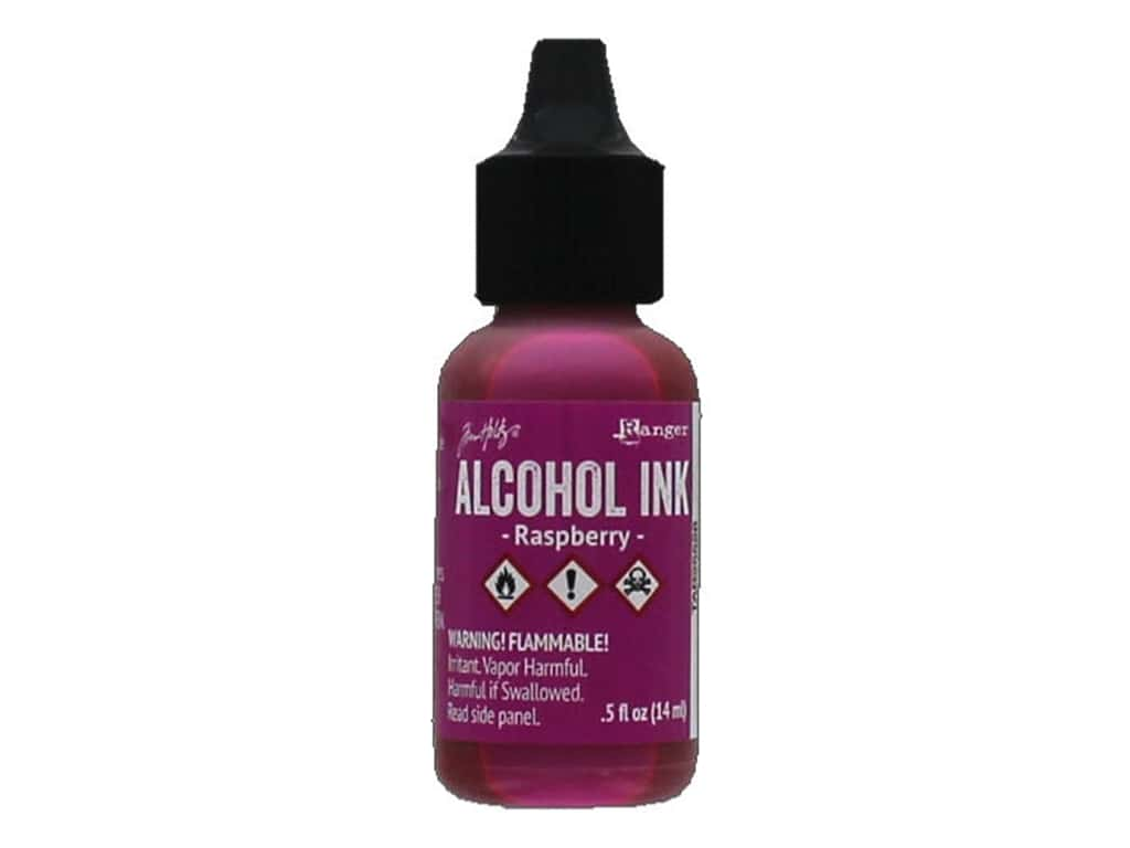 Tim Holtz Alcohol Ink by Ranger .5 oz. Raspberry