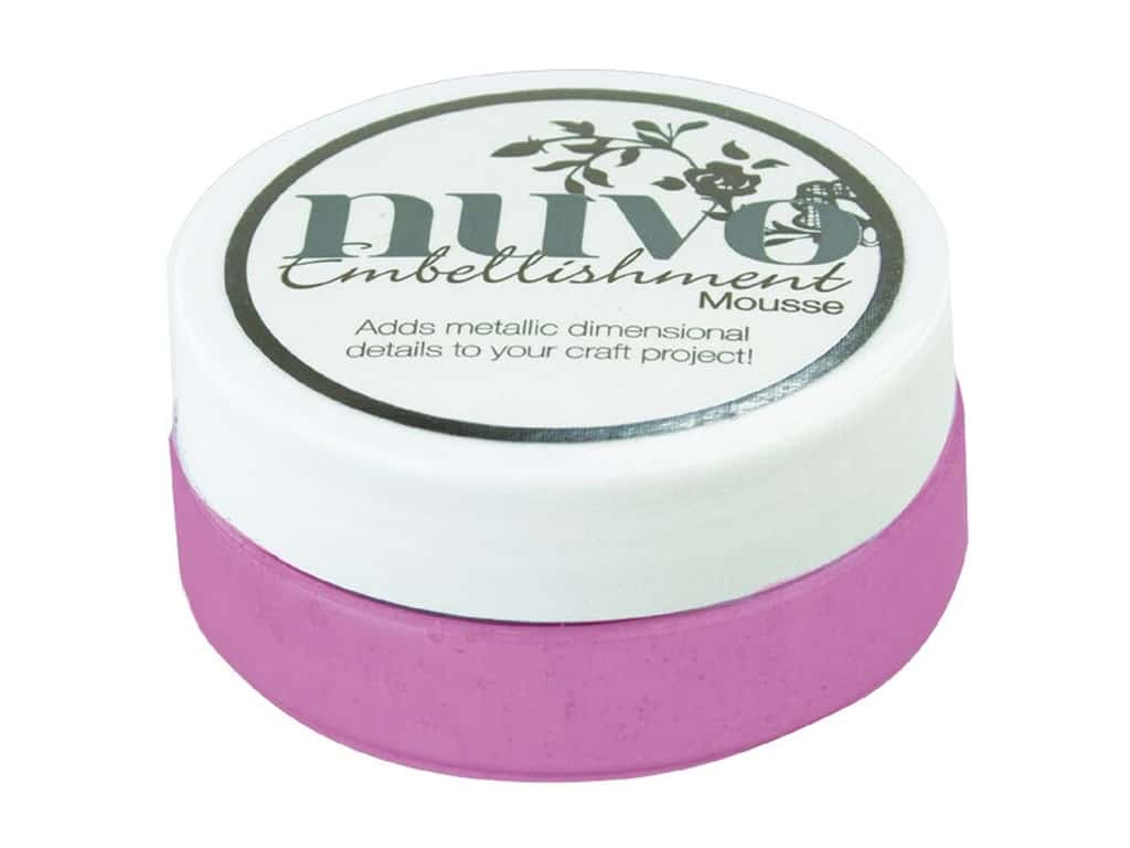 Nuvo Embellishment Mousse 2.2 oz. Triple Berry