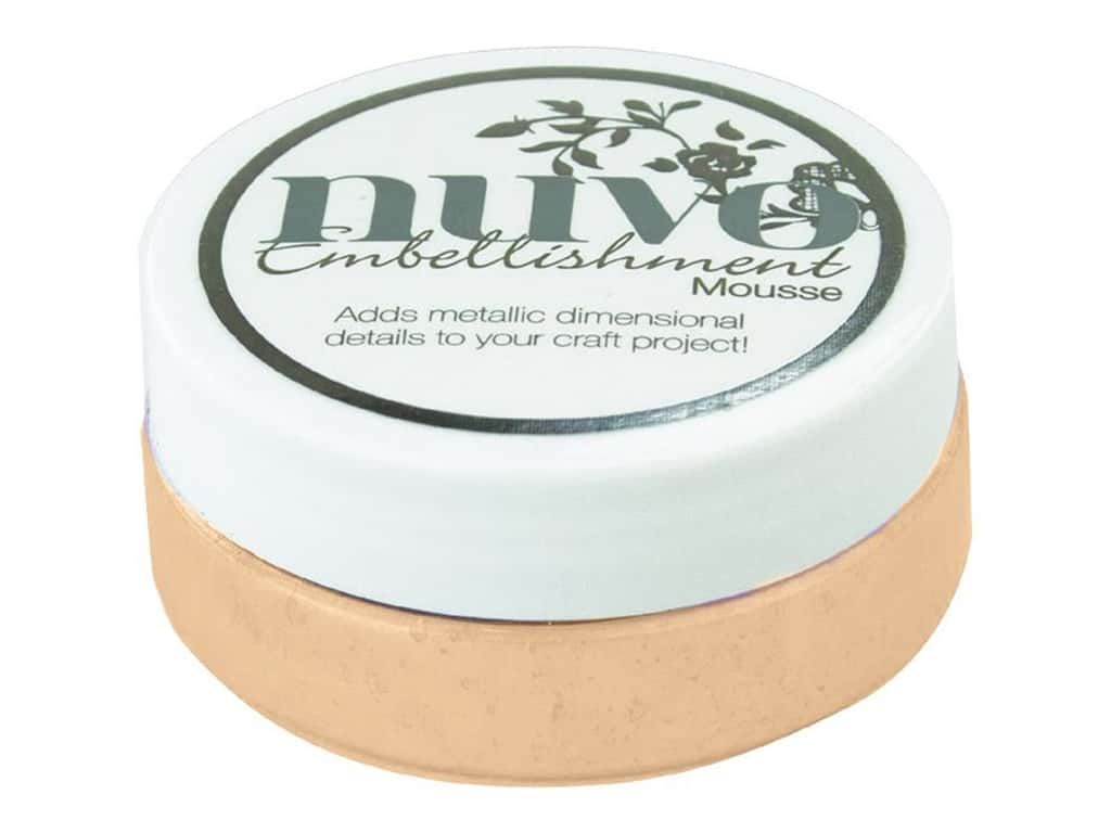 Nuvo Embellishment Mousse 2.2 oz. Chai Latte