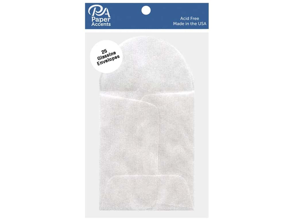 Paper Accents Glassine Envelope 1 3/4 x 2 3/4 in. 25 pc.