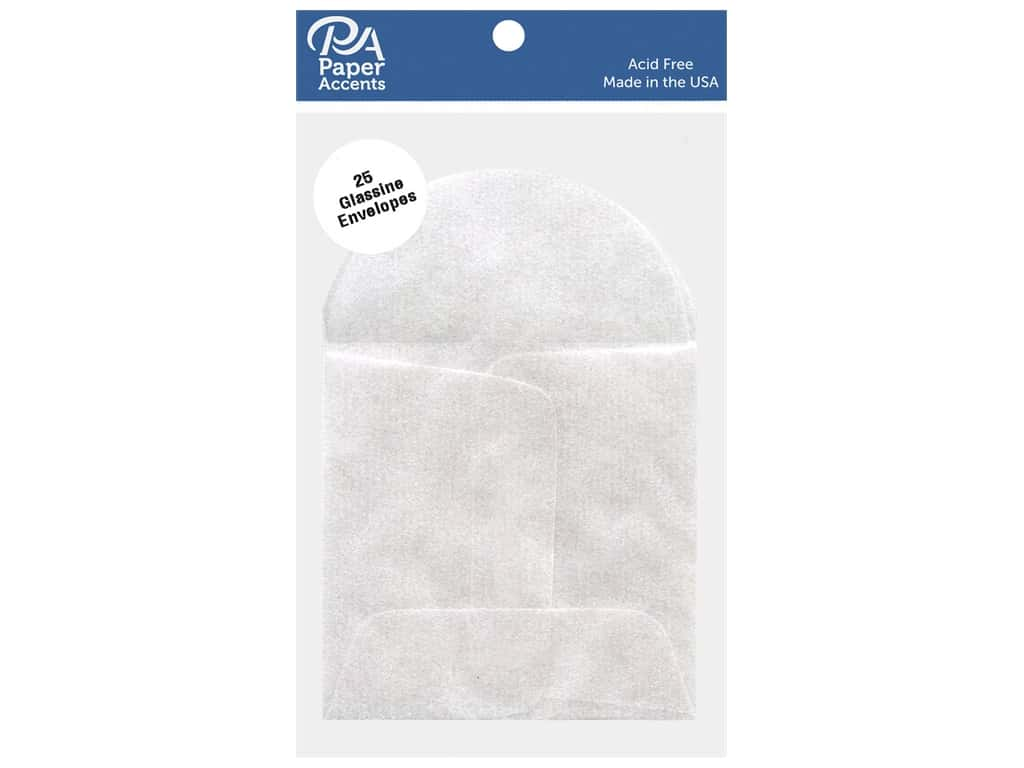 Paper Accents Glassine Envelope 2 x 2 in. 25 pc.