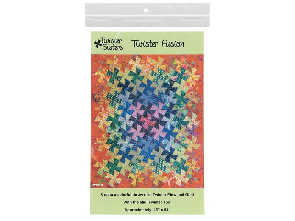 Twister Sisters Twister Fusion Pattern