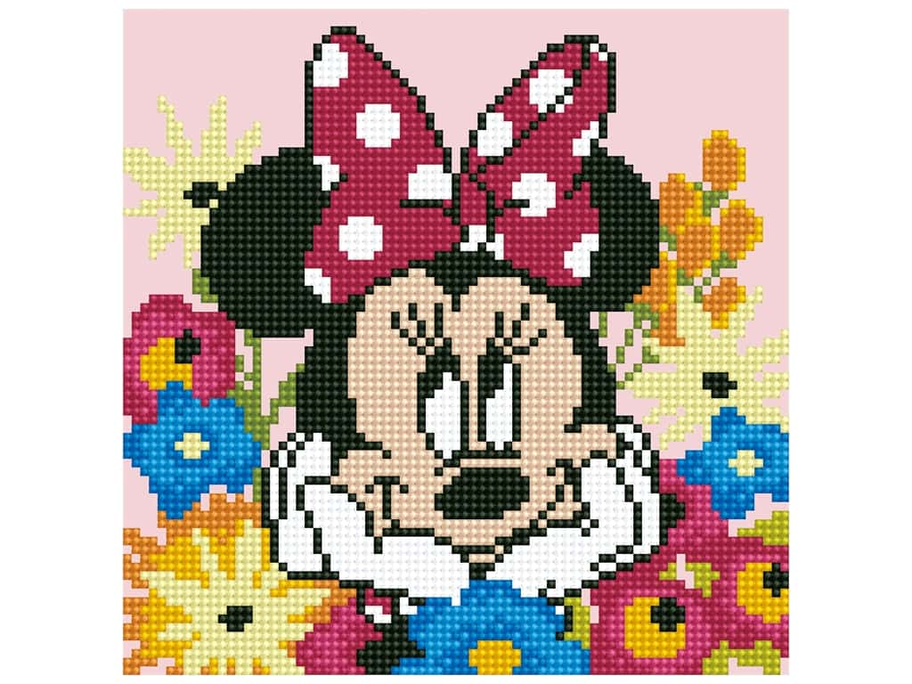 Diamond Dotz Facet Art Kit Intermediate Disney Minnie Mouse's Daydream