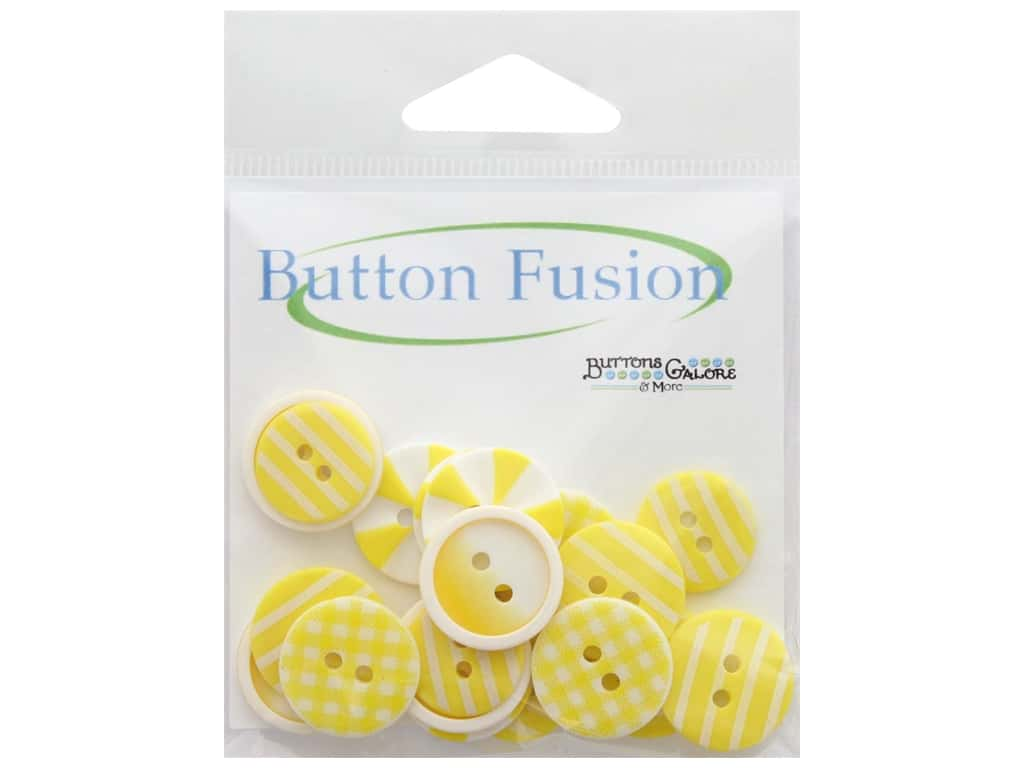 Buttons Galore Button Fusion 20 pc. Sunburst