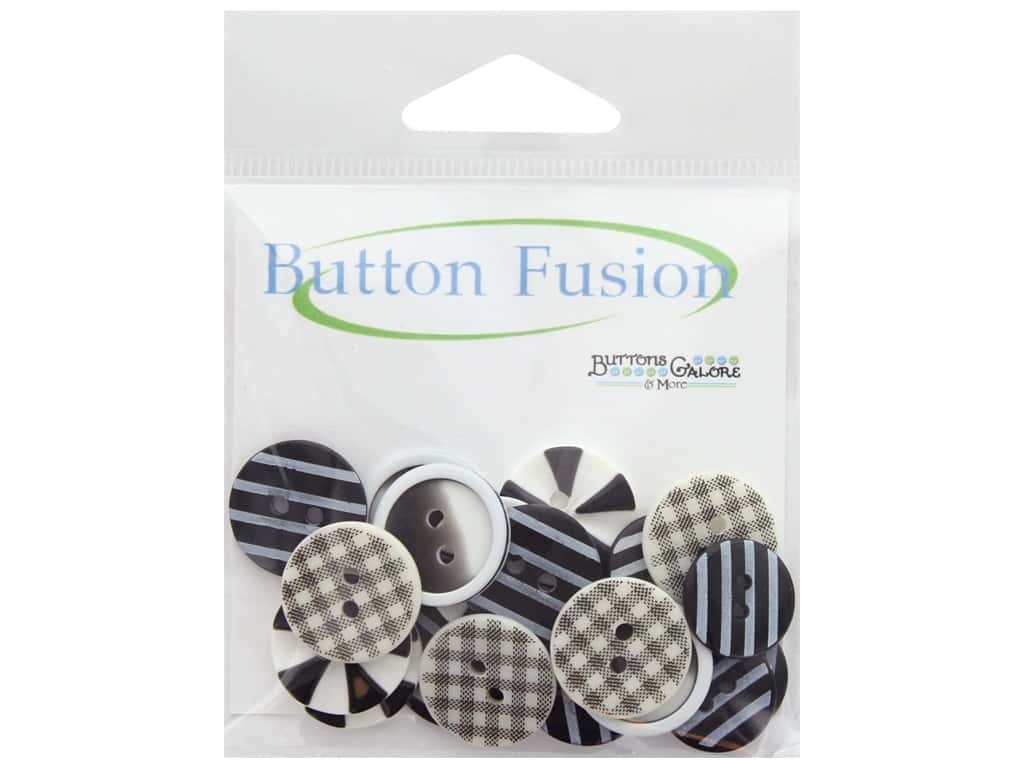 Buttons Galore Button Fusion 20 pc. Optical Illusion