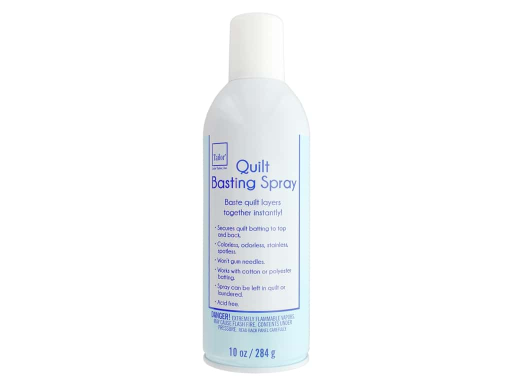 June Tailor Quilt Basting Spray 12 oz.