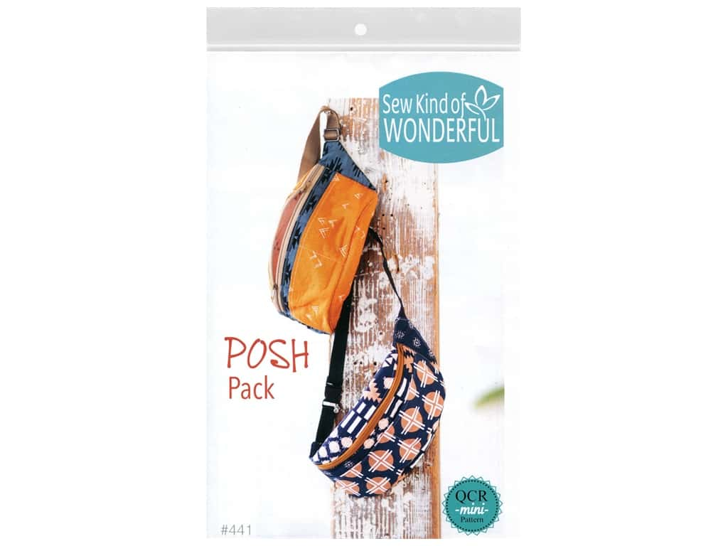 Sew Kind Of Wonderful QCR Mini Posh Pack Pattern