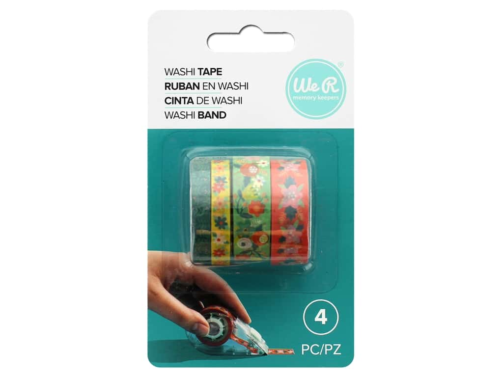 We R Memory Washi Tape Bright Floral