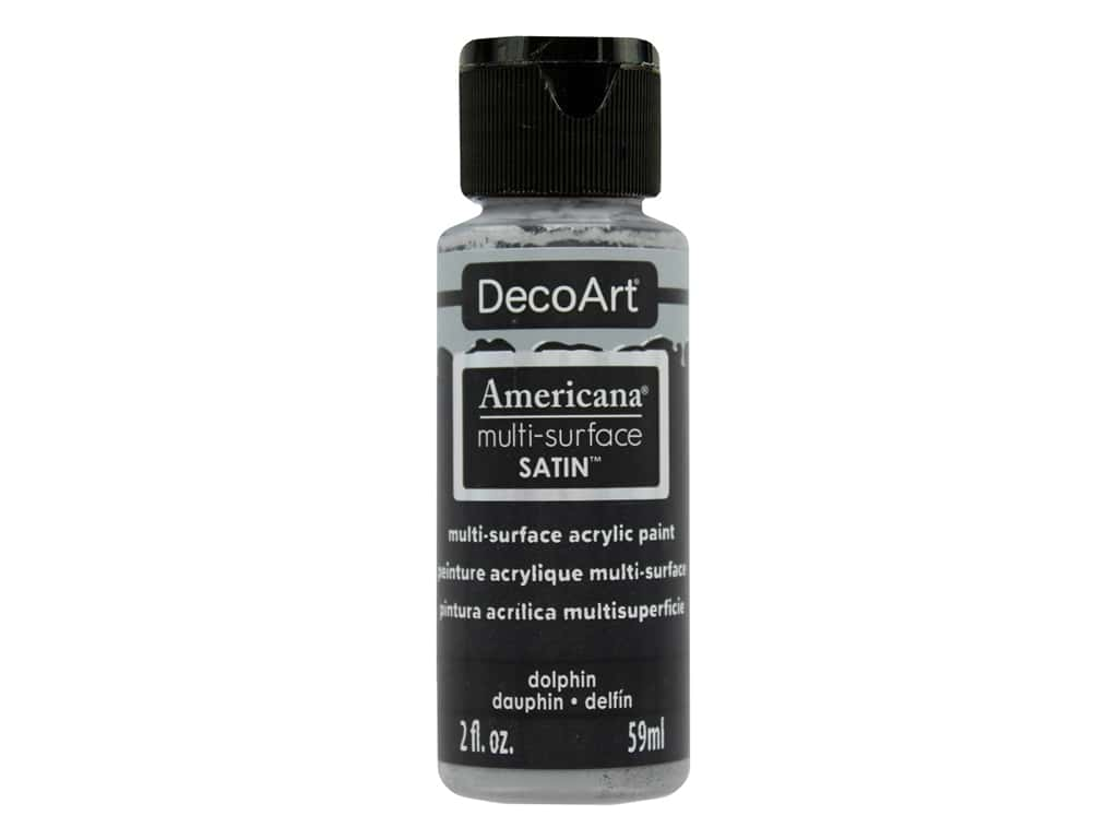 DecoArt Americana Multi-Surface Satin 2 oz. #532 Dolphin