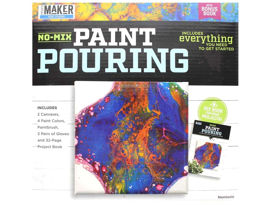 Leisure Arts Mini Maker Kit Paint Pouring