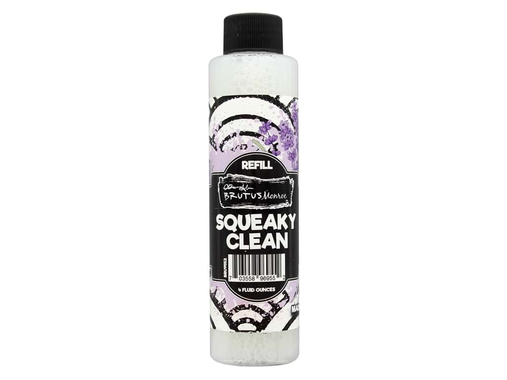 Brutus Monroe Squeaky Clean Stamp Cleaner Refill