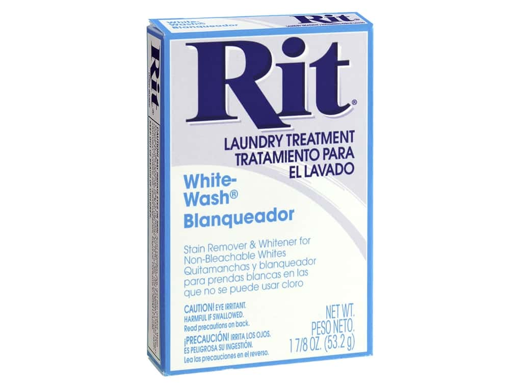 Rit Laundry Treatment Powder White Wash 1.88 oz