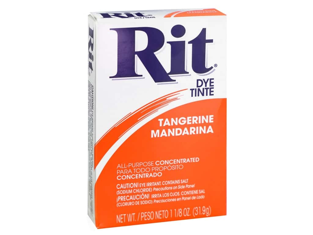 Rit Dye Powder 1 1/8 oz. Tangerine