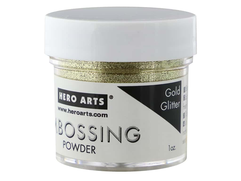 Hero Arts Embossing Powder 1 oz. Gold Glitter