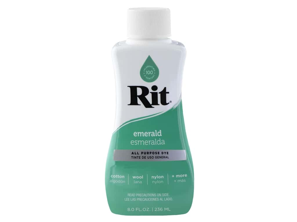 Rit Dye Liquid Dye 8 oz. Emerald