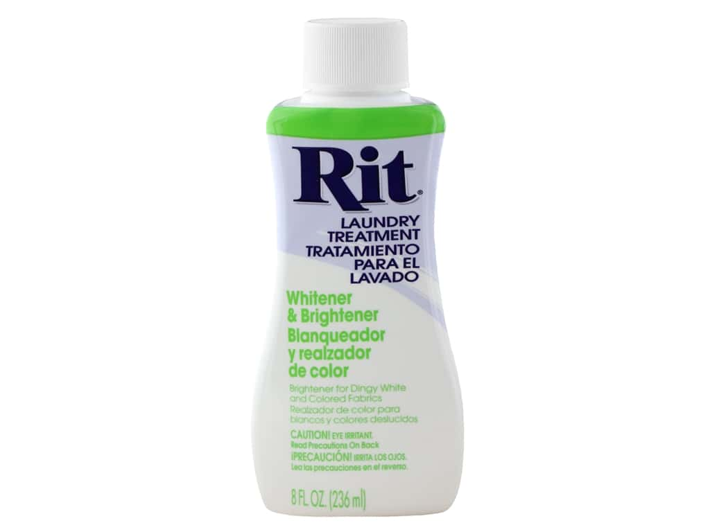 Rit Laundry Treatment Liquid Fabric Whitener 8 oz