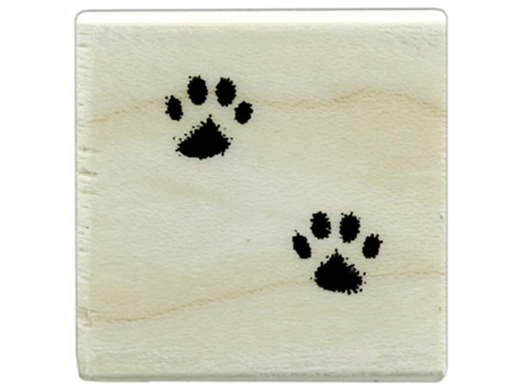 Hero Arts Rubber Stamp Wood Small Cat's Paws