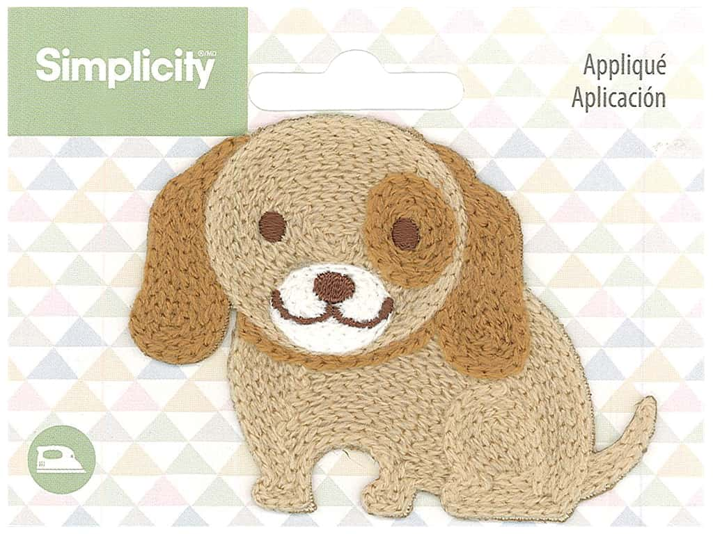 Simplicity Applique Iron On Baby Dog