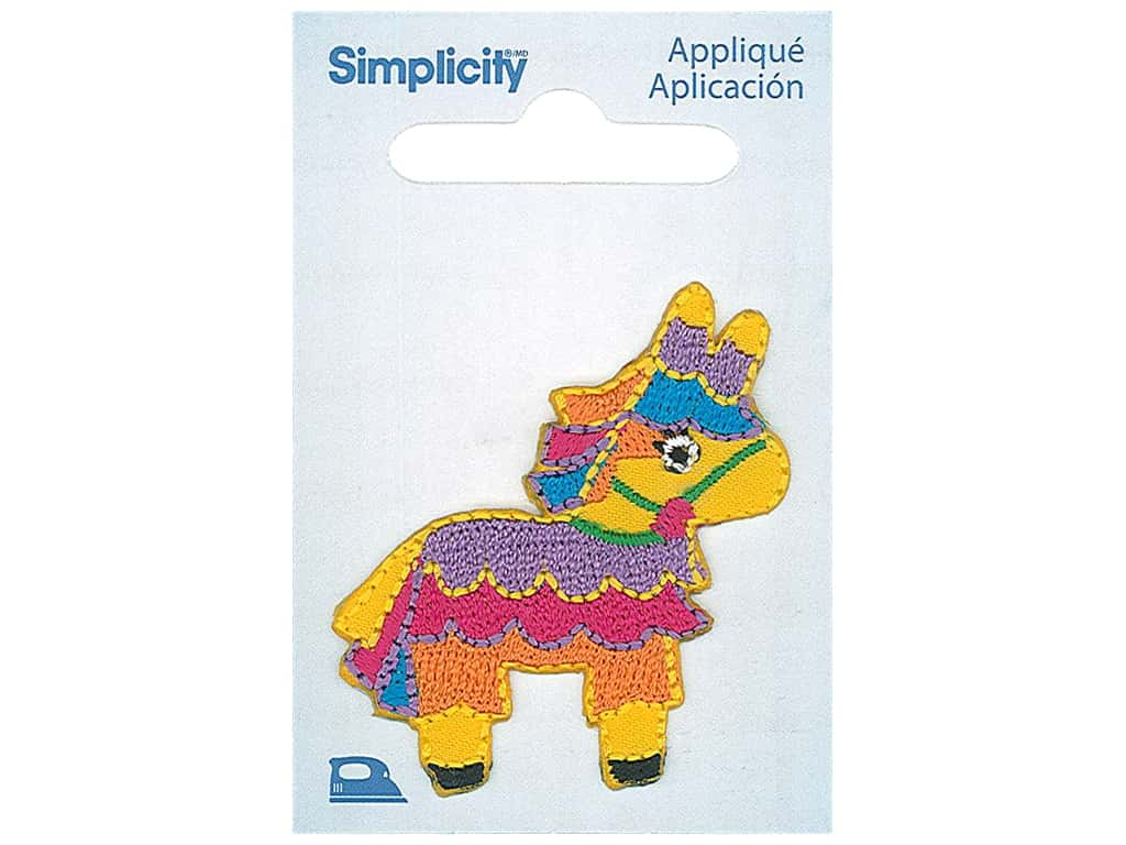 Simplicity Applique Iron On Pinata