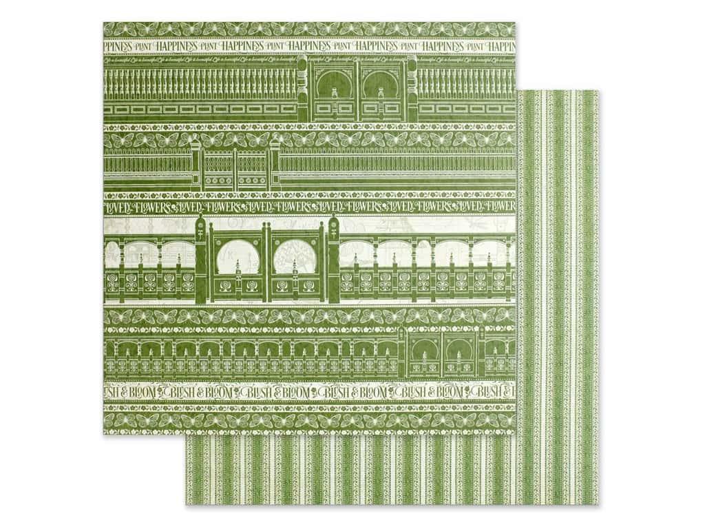 Graphic 45 Collection Bloom Paper 12 in. x 12 in. Garden Gate (25 pieces)