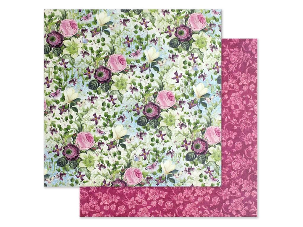 Graphic 45 Collection Bloom Paper 12 in. x 12 in. Hello Sunshine (25 pieces)