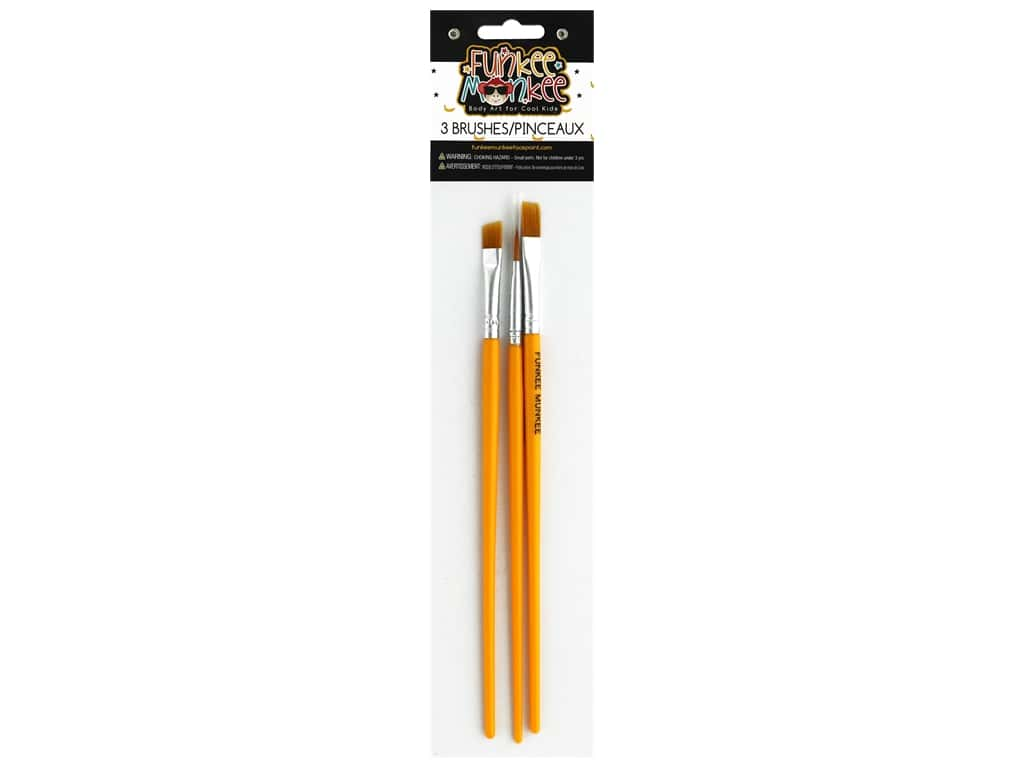 Funkee Munkee Brush Set 3 pc