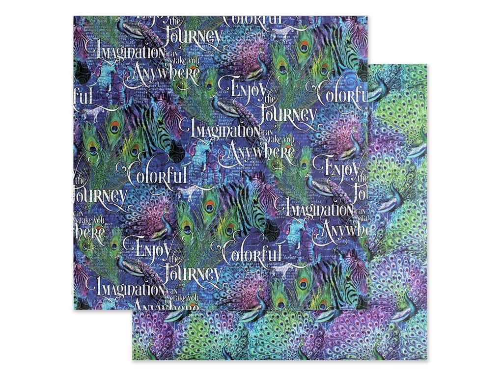 Graphic 45 Collection Kaleidoscope Paper 12 in. x 12 in. Joy In The Journey (25 pieces)