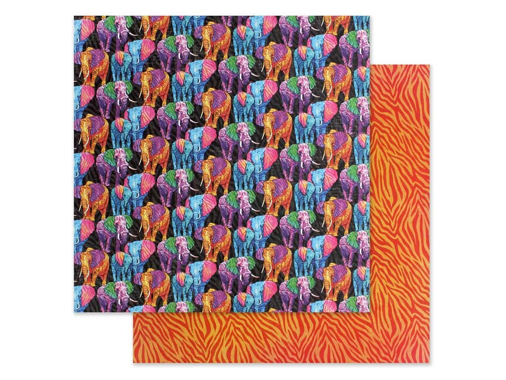 Graphic 45 Collection Kaleidoscope Paper 12 in. x 12 in. Dare to be Different (25 pieces)