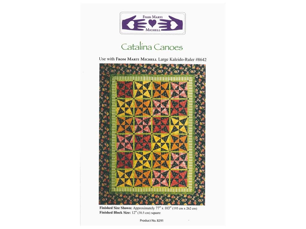 Marti Michell Catalina Canoes Pattern