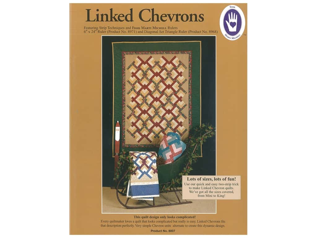 Marti Michell Linked Chevrons Pattern