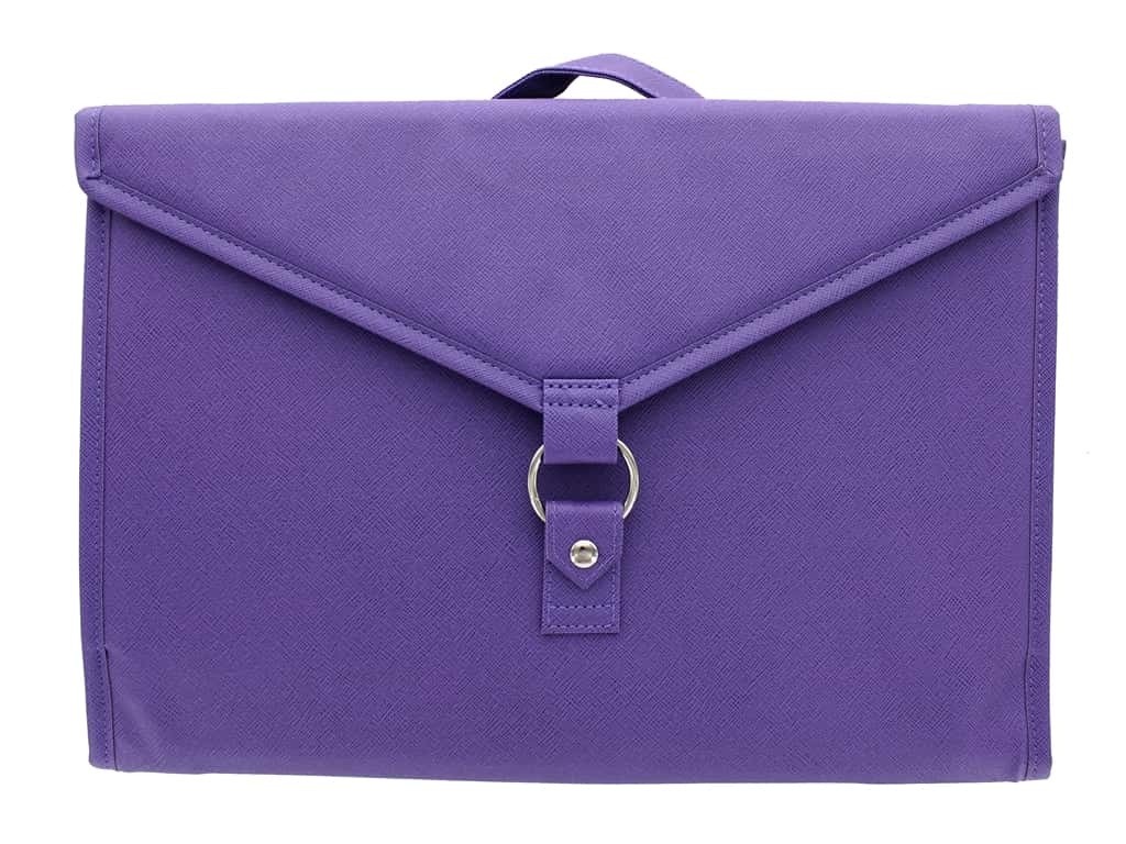 Diamond Dotz Dossier Organizer Purple