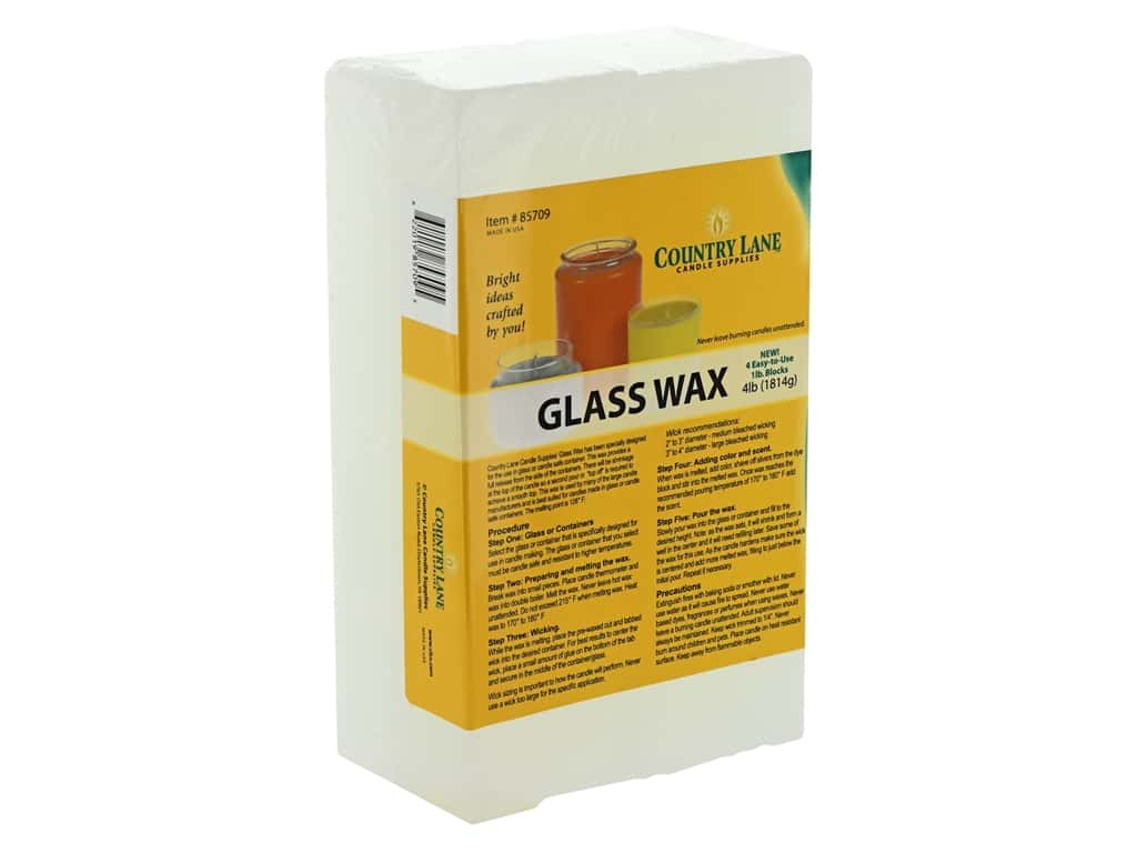 Country Lane Wax Glass Wax 4 lb