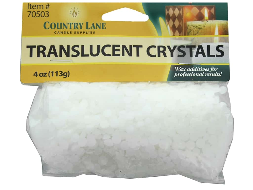 Country Lane Candle Translucent Crystals 4 oz