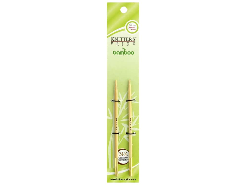 Knitter's Pride Bamboo Interchangeable Circular Needles Size 5