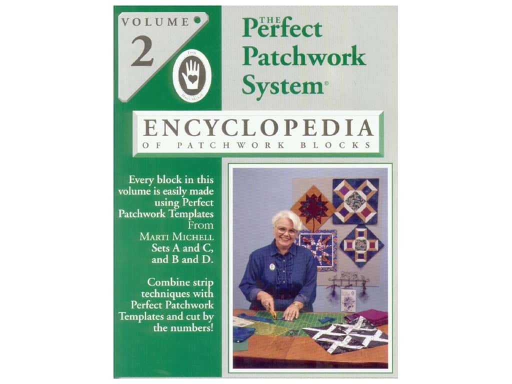 Marti Michell Encyclopedia of Patchwork Blocks Book Volume 2
