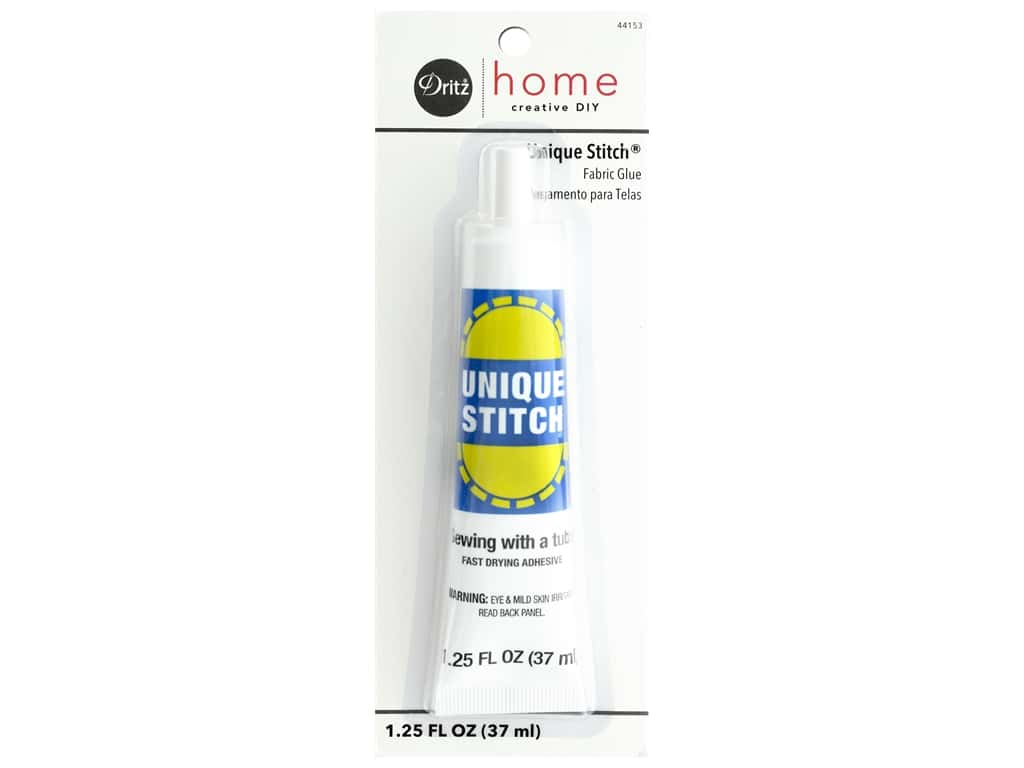 Dritz Home Unique Stitch Fabric Glue 1 1/4 oz.