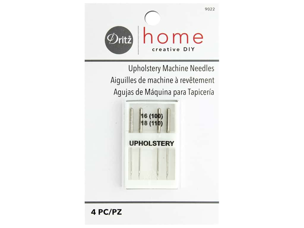 Upholstery Machine Needles by Dritz Home 16/18 4 pc.