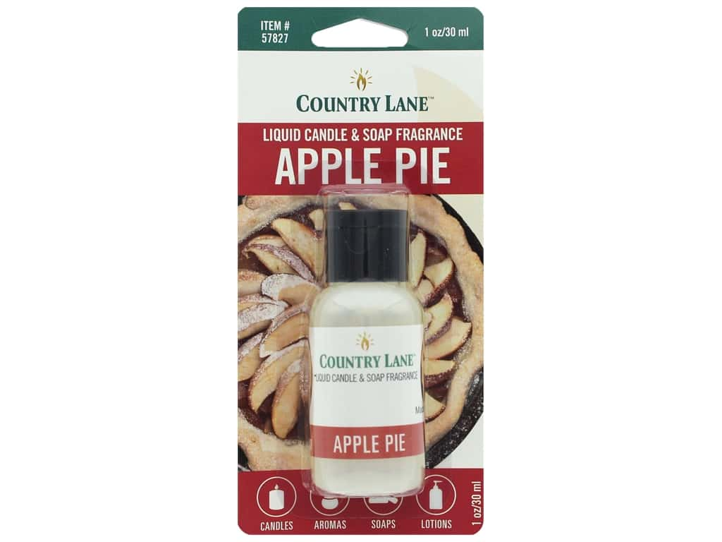Country Lane Scent Liquid Candle & Soap Fragrance Apple Pie 1 oz