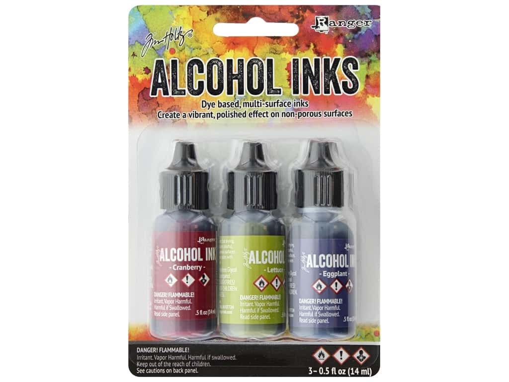 Tim Holtz Alcohol Ink by Ranger .5 oz. Farmer's Market Set 3 pc.