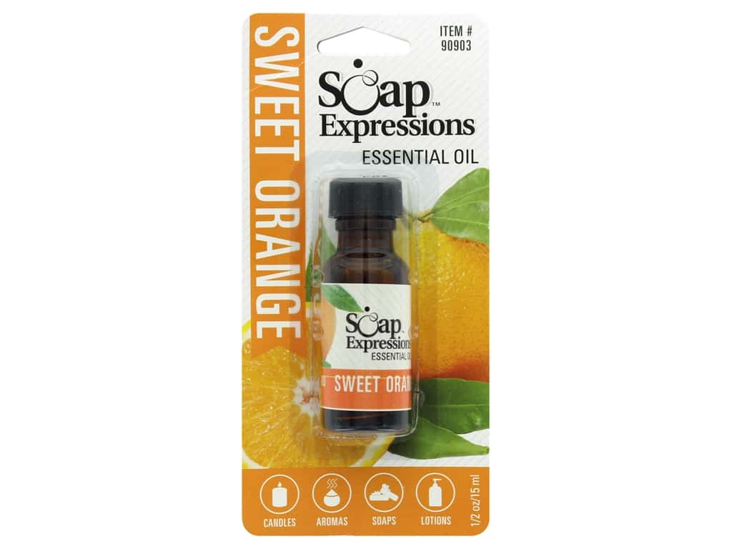 Soap Expressions Essential Oil 1/2 oz. Sweet Orange