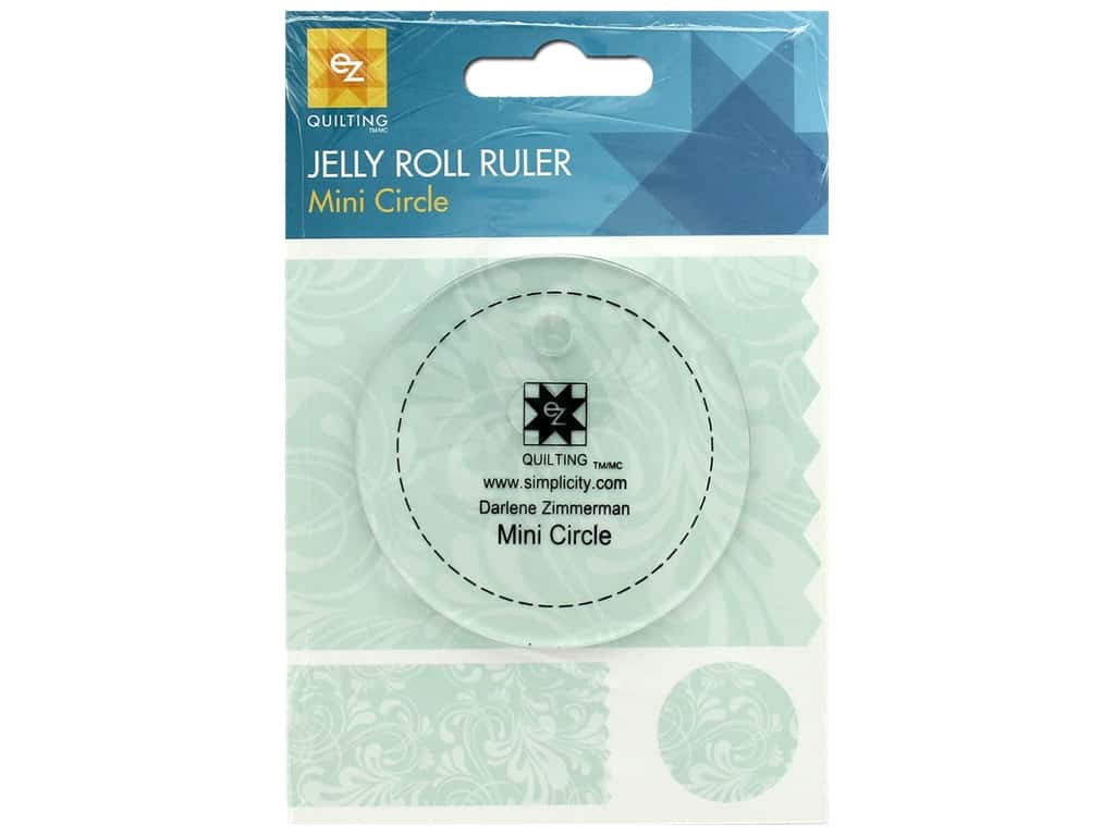 EZ Tools Jelly Roll Ruler Circle Mini