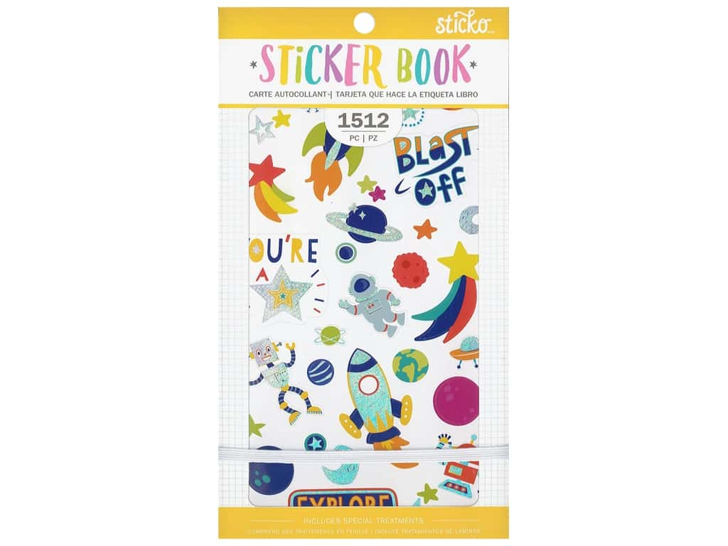 Sticko Sticker Book - Young And Fun