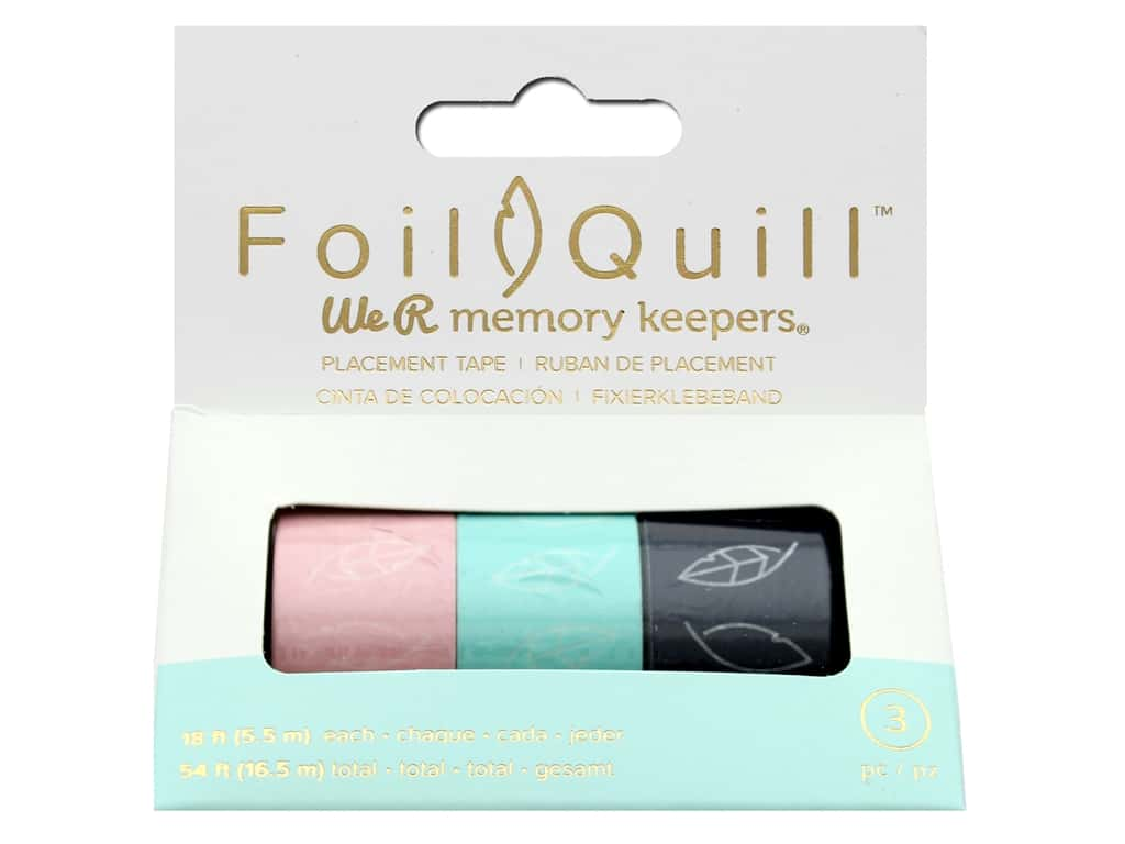We R Memory Keepers Foil Quill Placement Tape 3 pc.