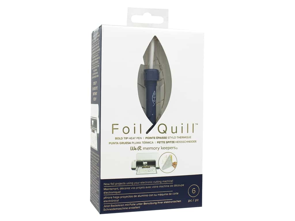 We R Memory Keepers Foil Quill Heat Activated Pen - Bold Tip