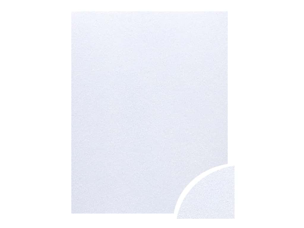 Paper Accents Glitter Cardstock 22 x 28 in. Iridescent White 10 pc.